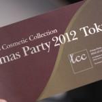【TCC】X'mas Party 2012 Tokyoレポ① プリシラオノのメイクアップショー テーマはパーティメイク!