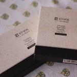 ETVOS ミネラルアイカラーパレット ショコラベージュ、絶妙なブラウンカラーのグラデーション