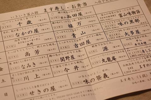 いきいき富山館日替わりマス寿司