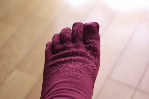 シルクパーティ 五本指靴下_5