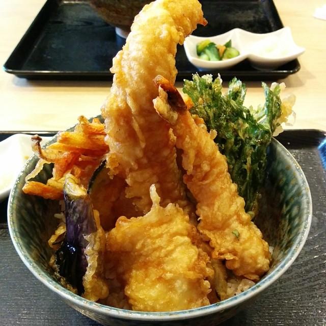 岩松の天丼