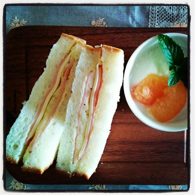 centreの食パン