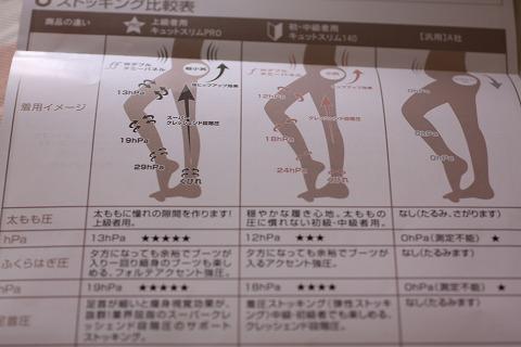 キュットスリム タイツシリーズ レギンス (5)