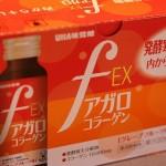 UHA味覚糖が発売しているコラーゲン飲料!『fアガロコラーゲンEX』