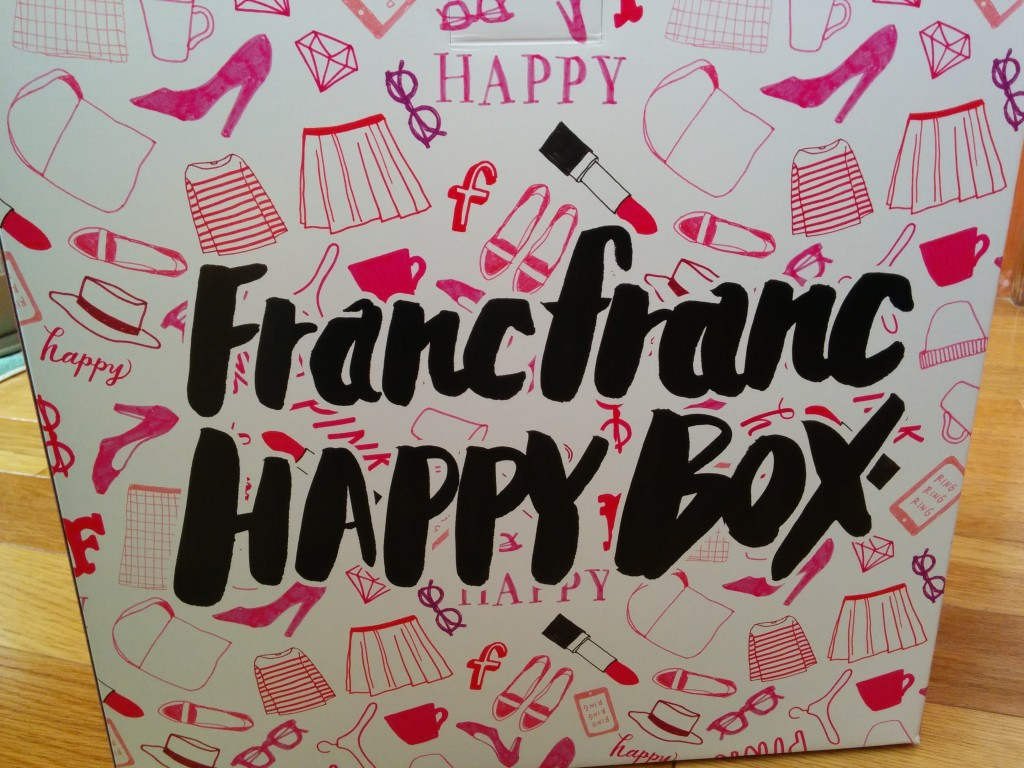 Franc franc HAPPYBOX2016 (1)