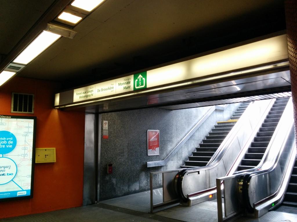 パリ北駅からブリュッセルへ